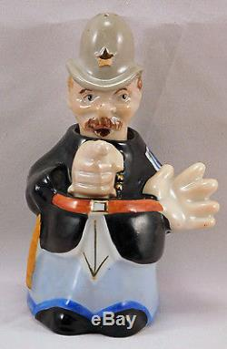 Keystone Bobby Policeman Nodder Salt and Pepper Shakers