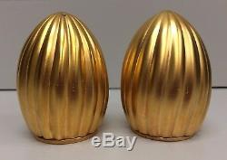 L'Objet Carrousel 24k Gold Salt & Pepper Shaker Set