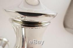 LARGE TIFFANY & CO STERLING SALT AND PEPPER GRINDER SET 5.75 EXC COND NO MONO