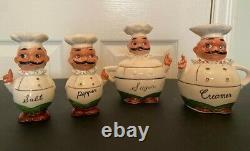 LOT of HOLT HOWARD Vintage Salt Pepper SONSCO 1958 Mid Century JAPAN