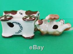 LOVEBIRDS TWIRP & CHIRP Salt and Pepper Shakers CERAMIC ARTS STUDIO 1952