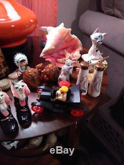 Lot of Vintage Salt & Pepper Shakers