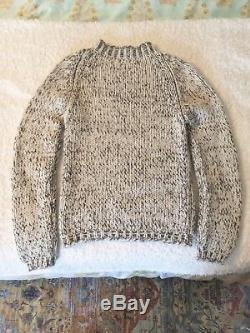Malo Cashmere salt & pepper sweater sz. S