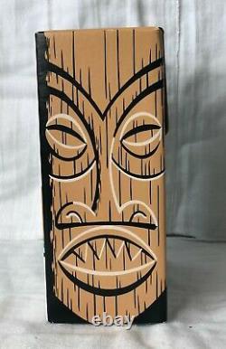 NOS 2007 Tiki Farm SALT & PEPPER Set By SHAG PA AKAI NIOI Hawaiian Seasonings