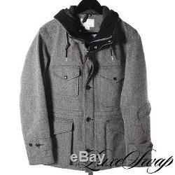 NWOT Nanamica Made in Japan Gore-Tex Salt Pepper Herringbone Jacket Coat M A1P