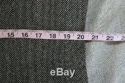 NWOT Ring Jacket Japan Barleycorn Grosgrain Salt Pepper Tweed Patch Pocket 52 EU