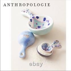 NWT Anthropologie Lilia Pie Pan Spoon Rest Salt/Pepper Measuring Cups & Spoons