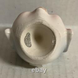 Napco Elephant Nodder Salt Pepper Shaker Set X4782 FLAW Vintage