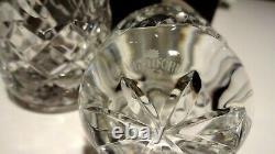 New Waterford Crystal Colleen Salt & Pepper Shakers In Original Box Ireland