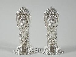 Pair Reed & Barton Francis I Sterling Silver Salt & Pepper Shakers