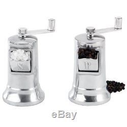 Perfex Salt and Pepper Mill Set. NEW