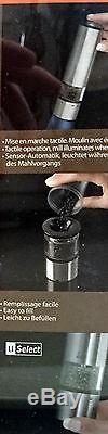 Peugeot Elis Sense elektrische Pfeffermühle od. Salzmühle uSelect, LED Licht, 20cm