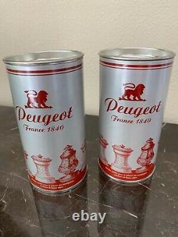 Peugeot Mignonnette Silver-Plated 4 Salt & Pepper Mill Set NEW
