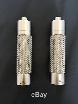 Peugeot Tresses Stainless Steel Braided Pepper Mill and