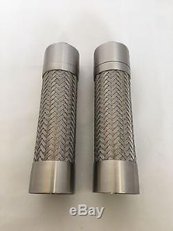Peugeot Tresses Stainless Steel Braided Pepper Mill and Salt Mill