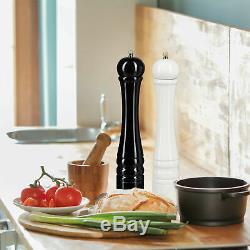 Pfeffermühle Gewürzmühle Kräutermühle Salzmühle Keramikmahlwerk 2er Set Holz