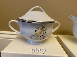 Pottery Barn Reindeer Accessories Gravy Boat Sugar Bowl Creamer Salt & Pepper