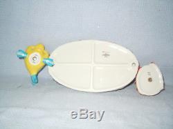 RARE Disney Limited Edition 250 Sebastian & Flounder Salt & Pepper Shakers NIB