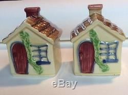 RARE Shawnee Cottage Salt And Pepper Shakers