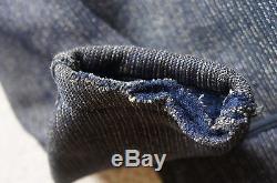 RARE Vtg 30's 40's Browns Beach Cloth Jacket Salt & Pepper Work Wear Chore Large