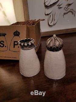 Rae Dunn Crown Salt Pepper Shaker
