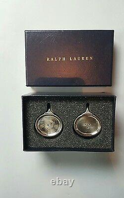 Ralph Lauren Wentworth Salt and Pepper Shaker (Silver Plated Brass) NWB