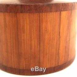 Rare Danmark Teak/Bamboo Peppermill, Peugeot Lion, Eames, Jens Quistgaard NO RES