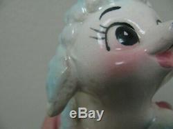 Rare! Howard Holt Kissing Lambs Salt Pepper Shakers Japan
