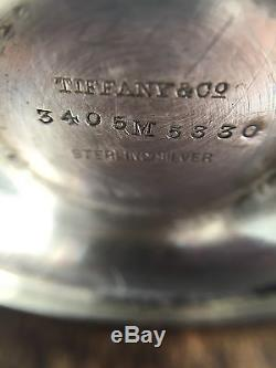 Rare Marked Tiffany And Company 3 Piece Salt And Pepper Set