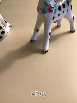 Rare Vintage PY Anthropomorphic Miyao Ponies Horses Salt And Pepper Shakers