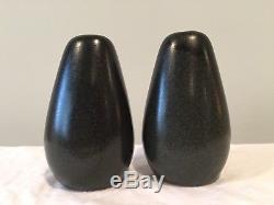 Roseville Raymor Avocado Salt & Pepper Shakers by Ben Seibel
