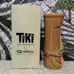 SHAG Josh Agle Elua Moai Tiki Salt Pepper Sugar Shaker Spice Bottle Pendant