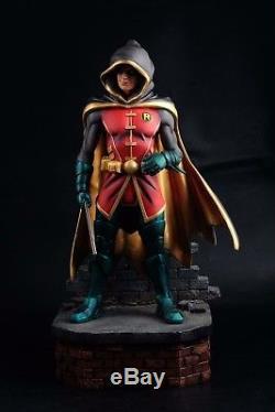 Salt And Pepper Damian Robin Custom 1/4 Scale Statue Super Rare