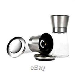 Salt Pepper Grinder Set of 2 Shakers Kitchen Gadget Cooking Home Tools Beskitch