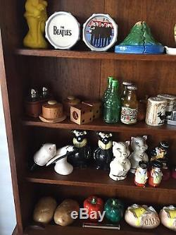 Salt & Pepper Shaker Collection 112 Pairs