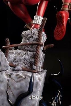 Scarler Spider 1/4Scale Statue Salt & Pepper Statues (nt SideshowithXM) Spider-Man