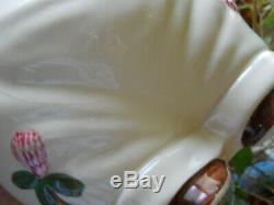 Shawnee Smiley Pig Cloverbud Cookie Jar & Winnie & Smiley Salt & Pepper Shakers