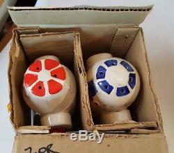 Sigma Ceramic Star Wars R2D2 SALT & PEPPER Made in Japan ROTJ Ultra Rare NIB NOS