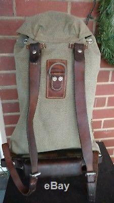 Swiss Military Backpack Rucksack Army Salt & Pepper