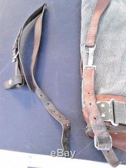 Swiss Salt & Pepper Backpack (Stamped 1971')