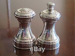 TIFFANY & Co. Sterling Silver Salt Shaker and Pepper Grinder