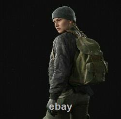 The Last of Us 2 Abby Backpack Vintage Swiss Army Light Green Salt and Pepper