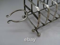 Tiffany & Co. Rare Sterling Silver Toast Rack Egg Cup & Salt Pepper Holder