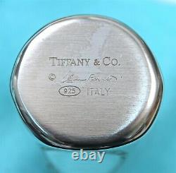 Tiffany & Co Sterling ELSA PERETTI Sterling Salt & Pepper Shakers Box & Wraps