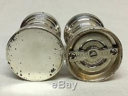 Tiffany & Co Sterling Silver Salt And Pepper Shaker Set