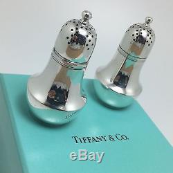 Tiffany & Co. Sterling Silver Salt Shaker & Pepper Set