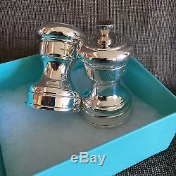 Tiffany Salt and Pepper Shaker Grinder Set $500 Retail
