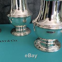 Tiffany Salt and Pepper Shaker Set abt 100 YEARS OLD
