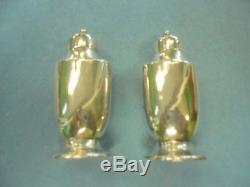 Tiffany Sterling silver salt and pepper shakers Vintage