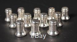 Twelve Vintage Salt and Pepper Shakers